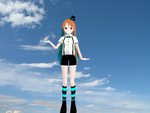 MMD model download:Mrs.Pumpkin by EmmysMMDProductions