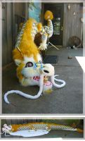 large chinese dragon toy by LilleahWest