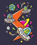 Donuts Make Great Spaceships by SuperFex