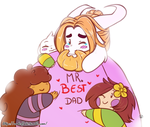 Mr Best dad by Geeflakes-art