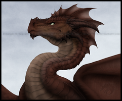 Dragon Bust by Gul-reth