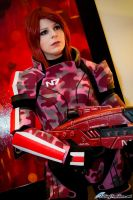 Mass Effect 3: FemShep by VariaK