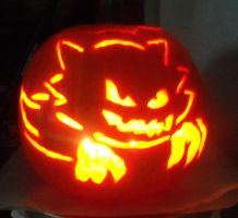 Haunter Pumpkin design by Mizu-Neko29