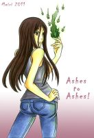 ashes to ashes by MeiriKobayashi
