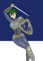 Ara in armor by bebesdupoire