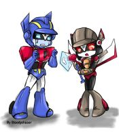 Optimus animated N Optachibi by BloodyChaser