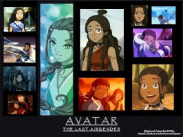 Katara from Avatar by BellaTytus
