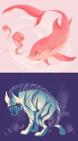 Sparkle Animals by Bedupolker