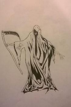 Death, The Grim Reaper by Arcobaleno1425M