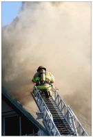 FireFighter in the Clouds by Pathethic