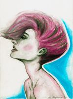 Oil pastel Illustrations by heylilahey