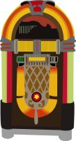 Retro Juke Box by quasigeek