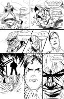 Superman Unleased Test Page 1 by randomality85