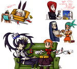 More Skullgirls doodles by J-j-a-y