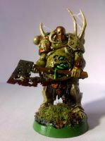 Nurgle Chaos Lord 02 by franarok