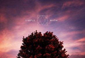 Simple Math - CD Cover Design by Moose23