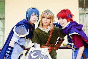 COS: Three Swordsmen by Chancake