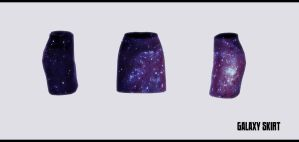 Galaxy skirt by Mari-Ichi