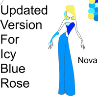UPDATED Contest Entry For Icy-Blue-Rose by zinxclubalexa