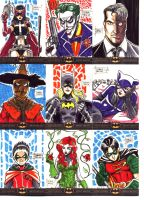Batman: The Legend Sketch Cards 2 by OptimusPraino