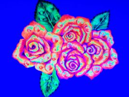 Black light roses by nicostars