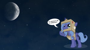 Luna Wants to be an Astronaut by MyLittleLuckyWish