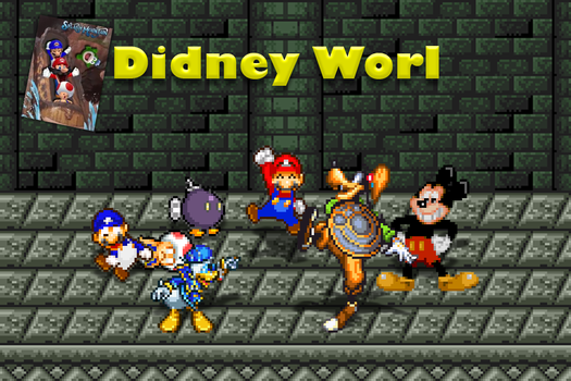SMG4 - Mario Goes to Didney Worl by kingnoel
