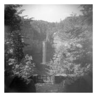 2014-253 Taughannock Falls from above, 1963 by pearwood