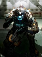 Dead Space 2 - Isaac by Antimatter-Radius