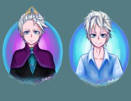 Male Elsa- Frozen by Abakura