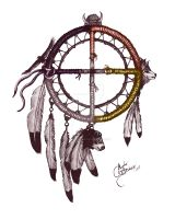 Medicine Wheel by adbalentine