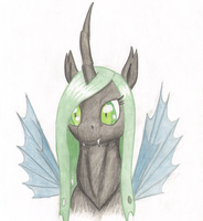 Ember the Changeling by Bladespark