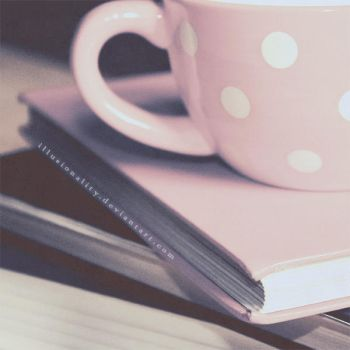 Books and Tea by illusionality