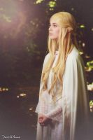 Lady Galadriel~ Light by lucioleeteinte