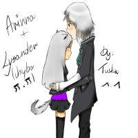 Arinna and Lysander. by Yuki171