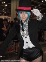 ACG HK 2012 - Vocaloid - Miracle Paint - Miku by leekenwah