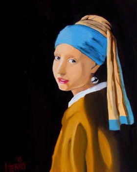 Girl with a Pearl Earring by sonbab