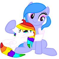 I Love You RainbowMusic so much by NatalkaPony