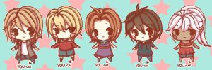 YOU-cee: Commission Batch by YOU-cee