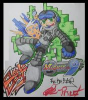 Mighty No.9 by ReikuSSR