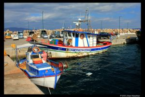 The harbour of Kissamos by jochniew