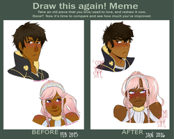 Draw This Again Meme by faeriety