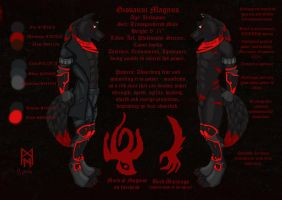 Giovanni Magnus Reference Sheet by MorbiusMonster