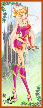 Winx: Queen Kerata of Centarion by DragonShinyFlame