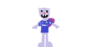 Toothy in a Chelsea shirt by HTF-432