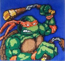 TMNT Epic Michelangelo full pattern by Serenity9900
