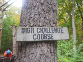 High challenge course by Booklover198273