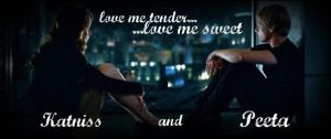 Love Me Tender- Peeta and Katniss by theofficialsmexy