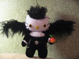 Ryuuku hellokitty plushie by Rens-twin