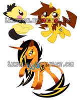 PokePony Adoptables7 by Sakuyamon